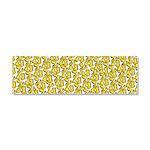 School of Clownfish Pattern Car Magnet 10 x 3