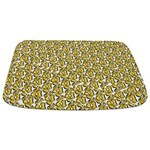 School of Clownfish Pattern Bathmat