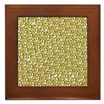 School of Clownfish Pattern Framed Tile