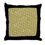School of Clownfish Pattern Throw Pillow