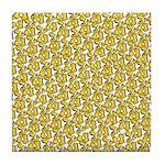 School of Clownfish Pattern Tile Coaster