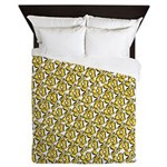 School of Clownfish Pattern Queen Duvet