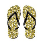 School of Clownfish Pattern Flip Flops