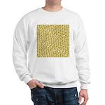 School of Clownfish Pattern Sweatshirt