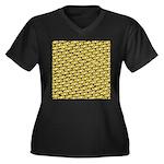 School of Clownfish Pattern Plus Size T-Shirt