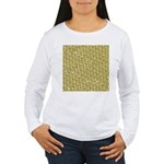 School of Clownfish Pattern Long Sleeve T-Shirt