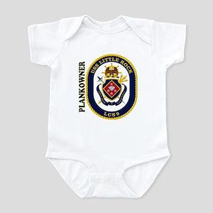 USS Little Rock Plank Owner Infant Bodysuit