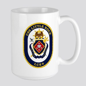 USS Little Rock LCS-9 Large Mug