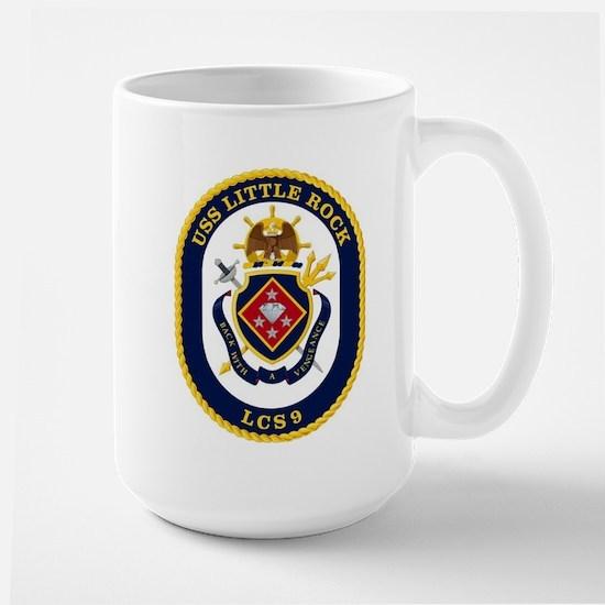 USS Little Rock LCS-9 Large Mug