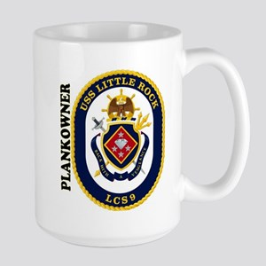 USS Little Rock Plank Owner Large Mug