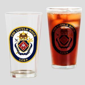 USS Little Rock LCS-9 Drinking Glass