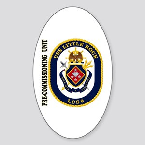 PCU Little Rock LCS-9 Sticker (Oval)
