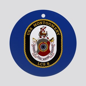 USS Little Rock LCS-9 Ornament (Round)