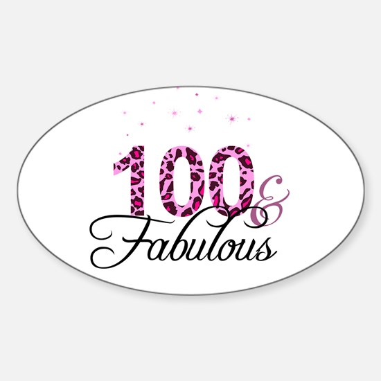 100 and Fabulous Decal