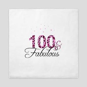 100 and Fabulous Queen Duvet