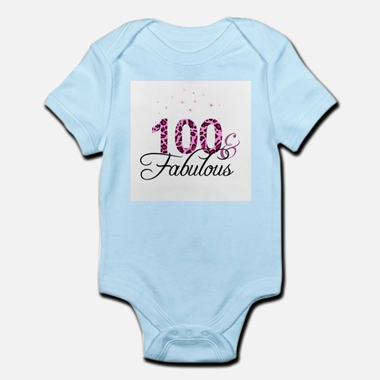 100 and Fabulous Body Suit