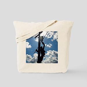 Rusty the Lineman Tote Bag