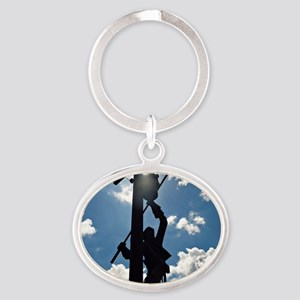 Rusty the Lineman Keychains