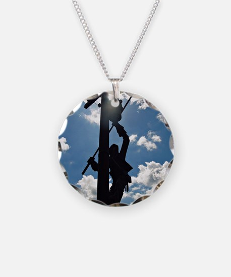 Rusty the Lineman Necklace