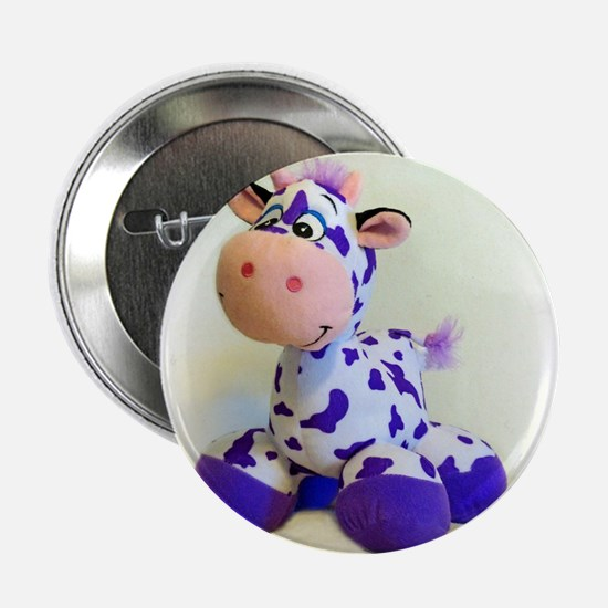 """Purple Cow 2.25"""" Button (10 pack)"""