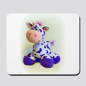 Purple Cow Mousepad