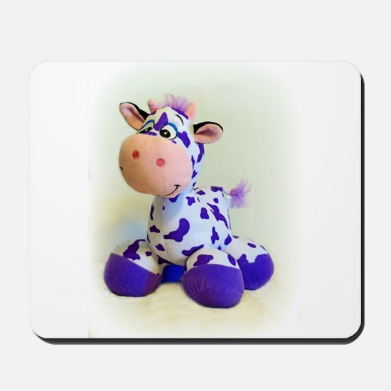 Purple Cow Mousepad