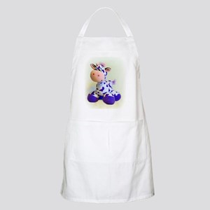 Purple Cow Apron