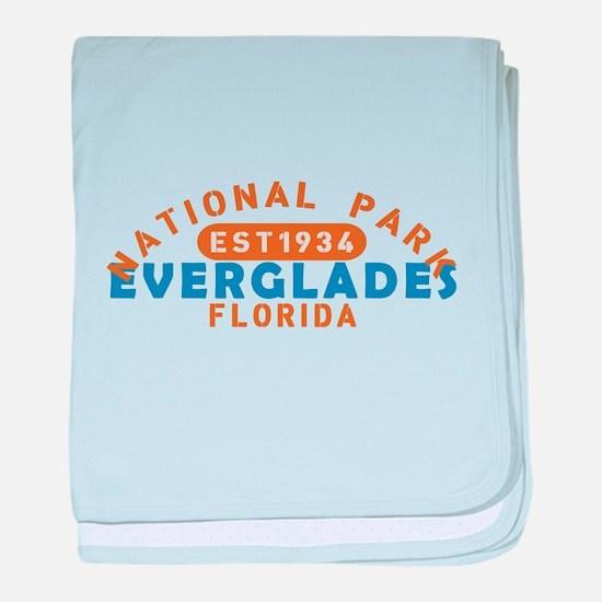 Everglades - Florida baby blanket