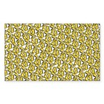 School of Clownfish Pattern Sticker