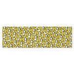 School of Clownfish Pattern Bumper Sticker
