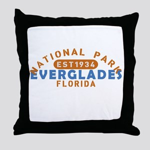 Everglades - Florida Throw Pillow
