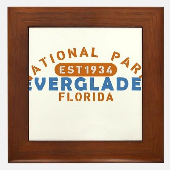 Everglades - Florida Framed Tile