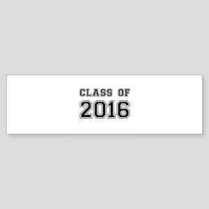 Class of 2016 Bumper Sticker