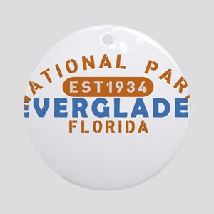 Everglades - Florida Round Ornament