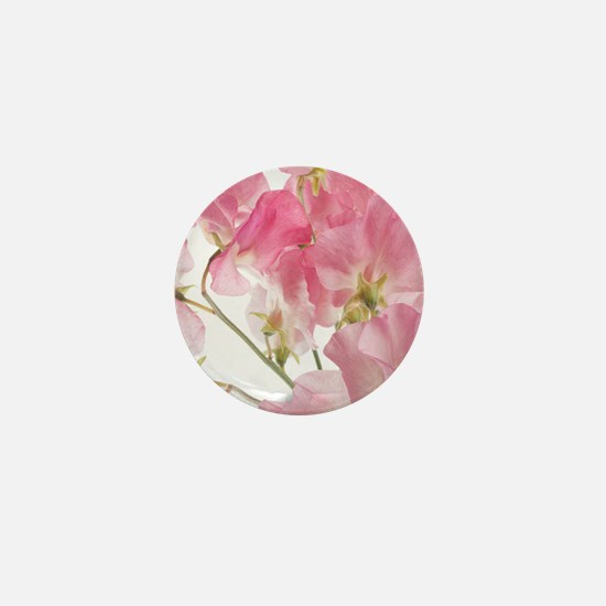 sweet pea Mini Button