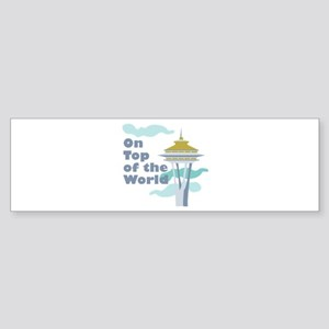 Top Of The World Bumper Sticker