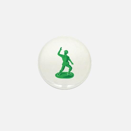 Toy Soldier Mini Button