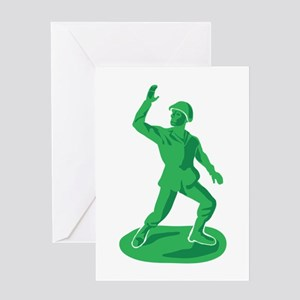 Toy Soldier Greeting Cards