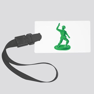 Toy Soldier Luggage Tag