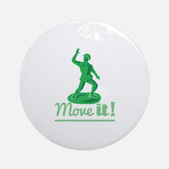 Move It Ornament (Round)