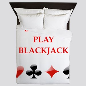 blackjack Queen Duvet
