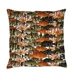 5 Grouper camo pattern Everyday Pillow