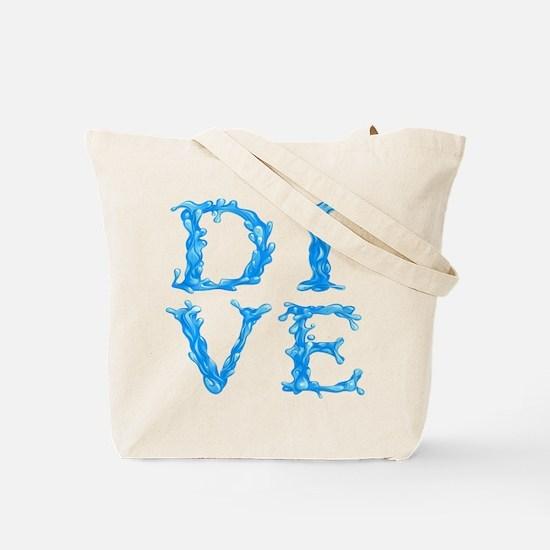 DIVE (both sides) Tote Bag