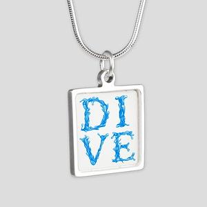 DIVE Silver Square Necklace