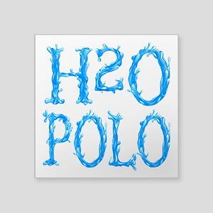 "h20 Square Sticker 3"" x 3"""