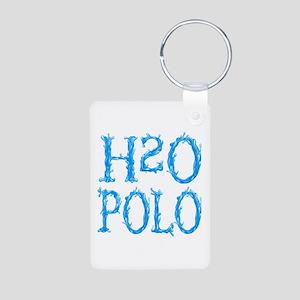 H2O POLO (both sides) Aluminum Photo Keychain