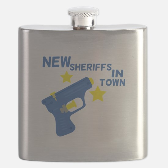 New Sheriffs In Town Flask