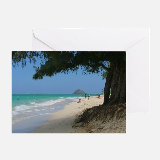 Mokulua Islands Greeting Card