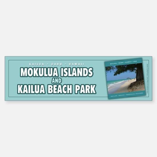 Mokulua Islands Bumper Bumper Bumper Sticker