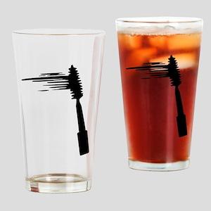 Mascara Drinking Glass